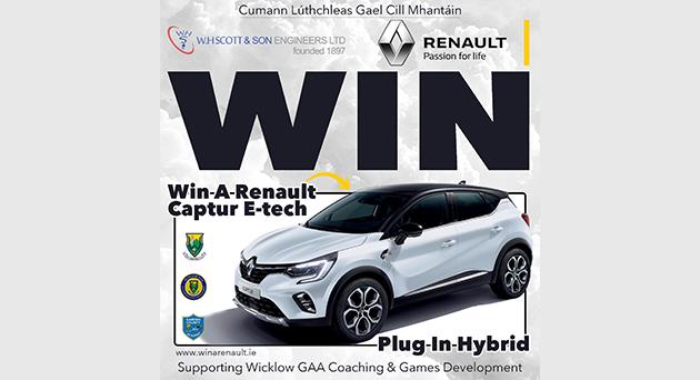 Wicklow GAA 'Win A Renault' Draw