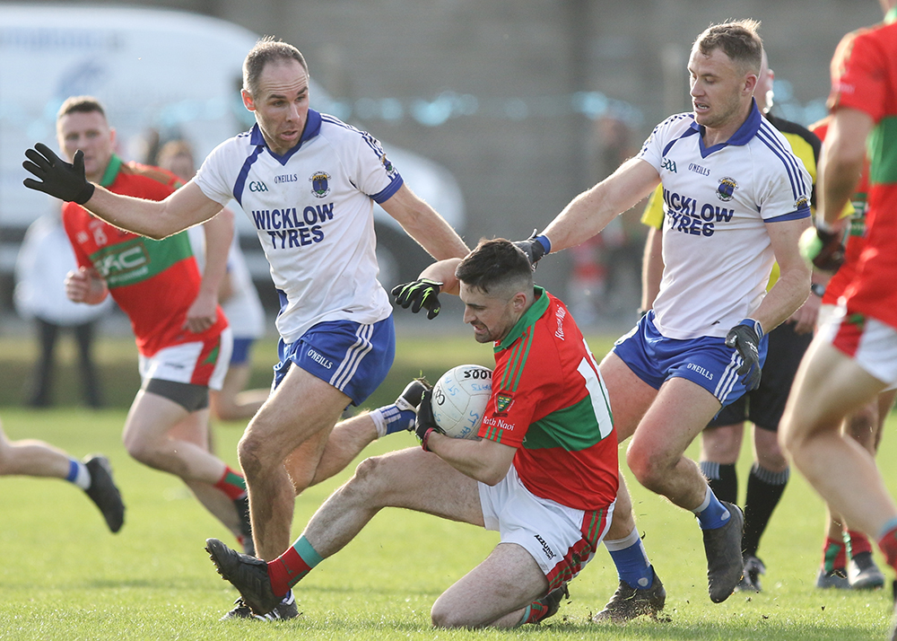 Rathnew v St Patricks Replay set for Saturday 27th.