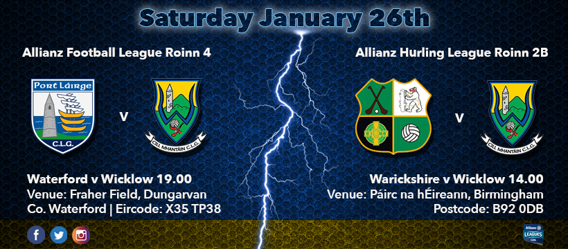 Allianz Football and Hurling Leagues R.1