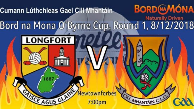 Trip to Longford for O'Byrne Cup opener.