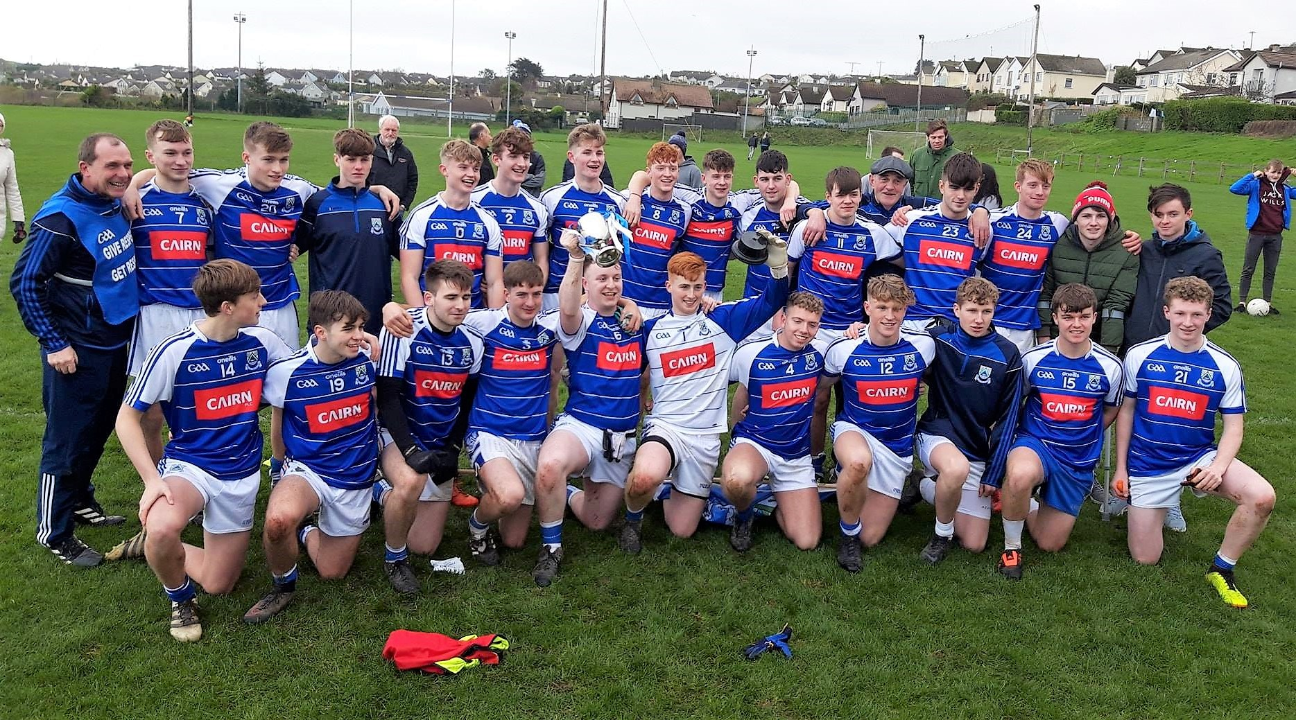 Eire Óg add under 20 B title to cap off a memorable year.