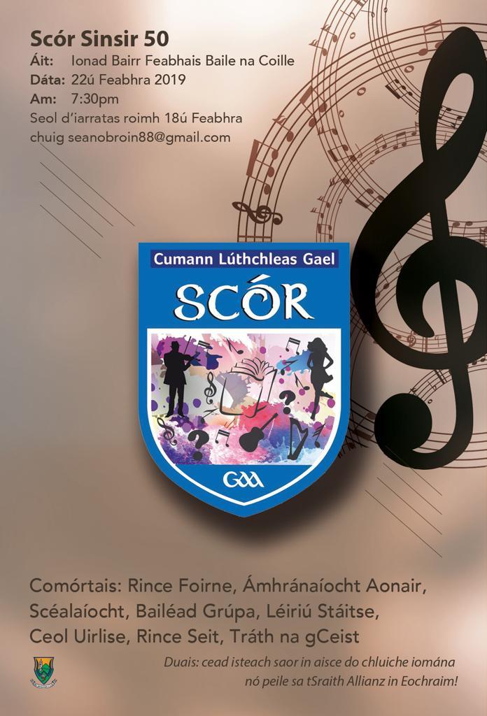 Scór Sinsir Finals – Scór turns 50