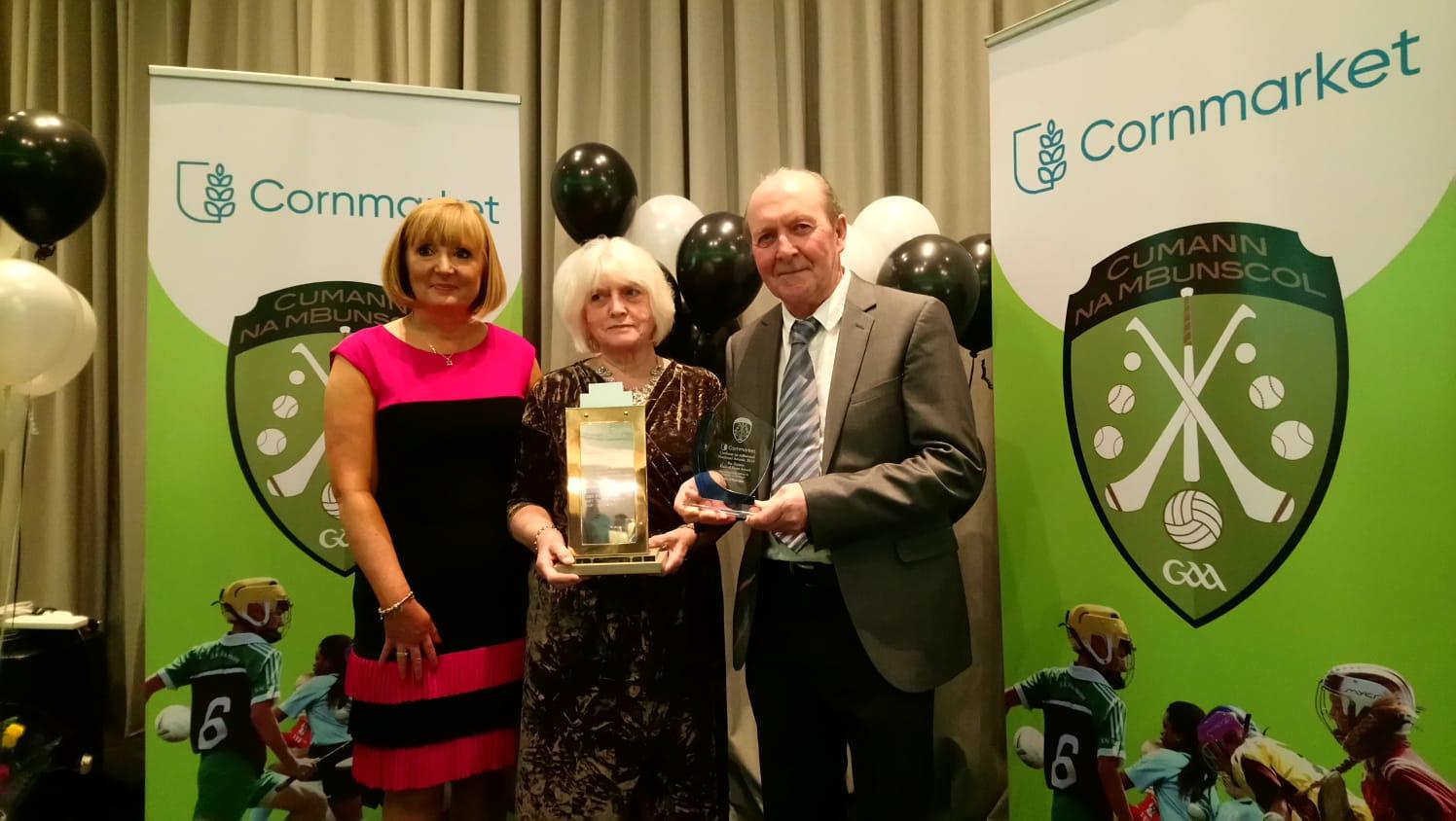 Jim O' Riordan receives Pat Trainor Award
