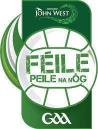 Wicklow U14 Feile Peil na nOg 2019 Rules & Fixtures