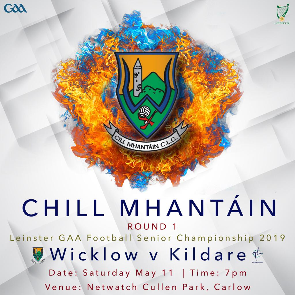 Leinster Football Championship R.1 Wicklow v Kildare