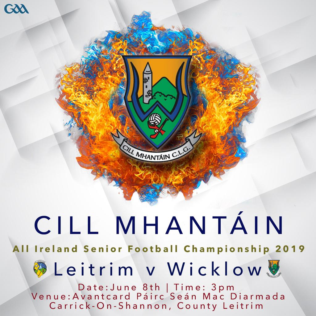 Qualifier Wicklow v Leitrim