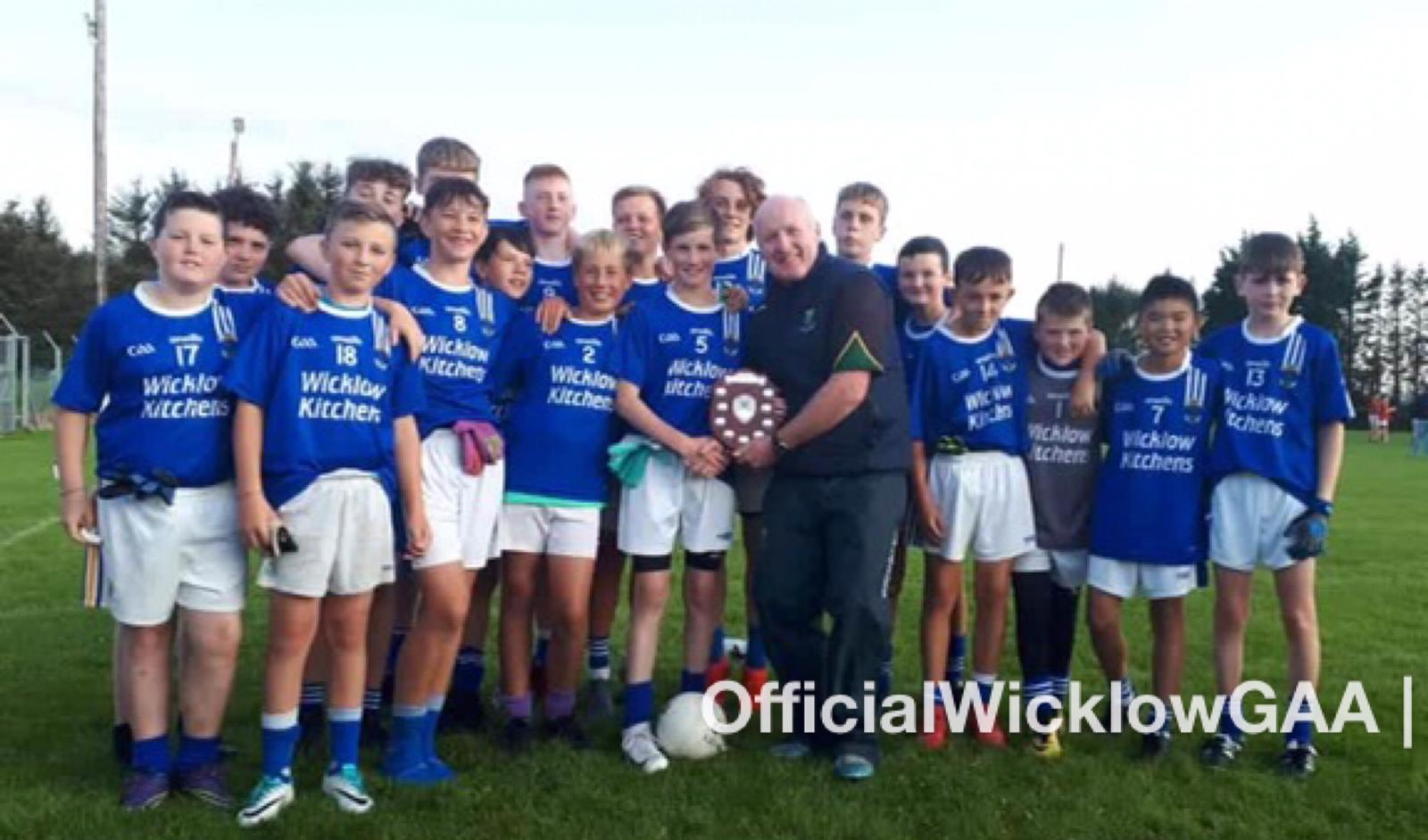 St Patrick's GAA Club Wicklow Town crowned U13 Football Division 1 League Winners 2019