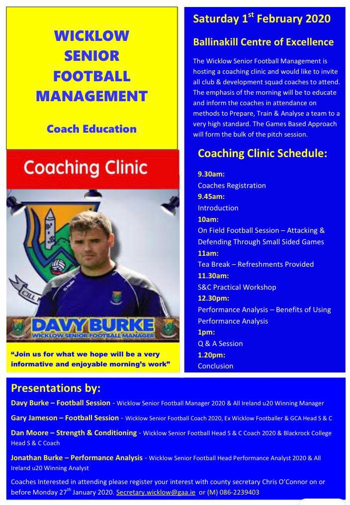 Football Coaching Clinic