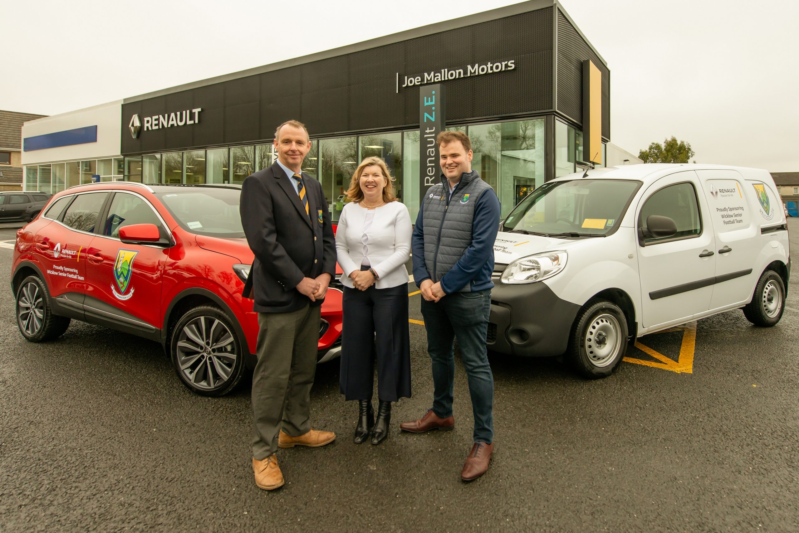 Renault Ireland continues Sponsorship of Wicklow Senior Football Team