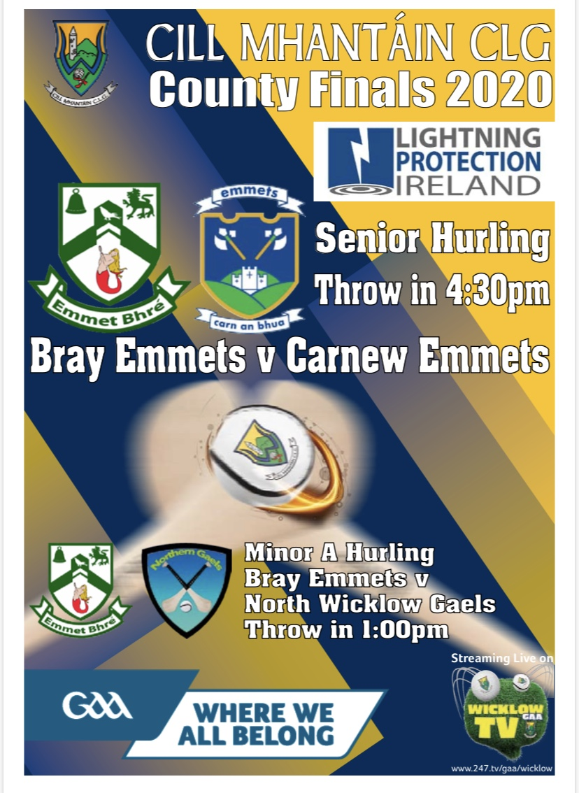 Senior Hurling Finals Programme