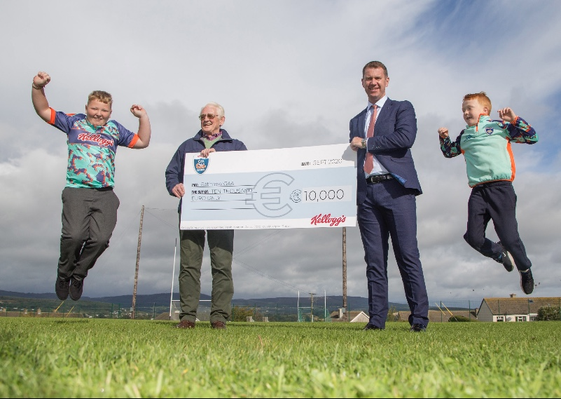 Rathnew GAA win €10,000 in Kellogg's GAA Cúl Camps on-pack competition