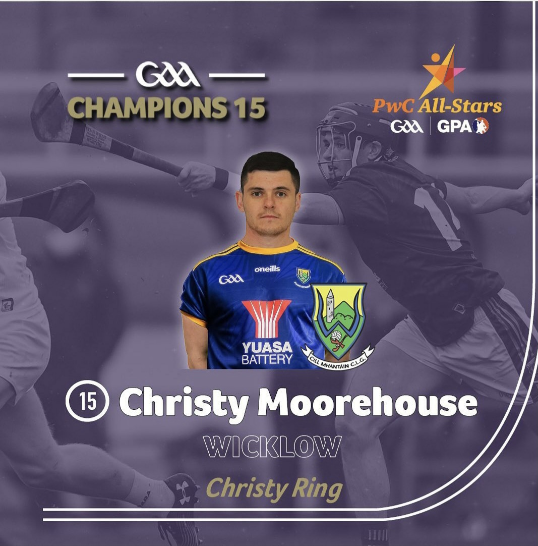 Christy Moorehouse named on Champions 15