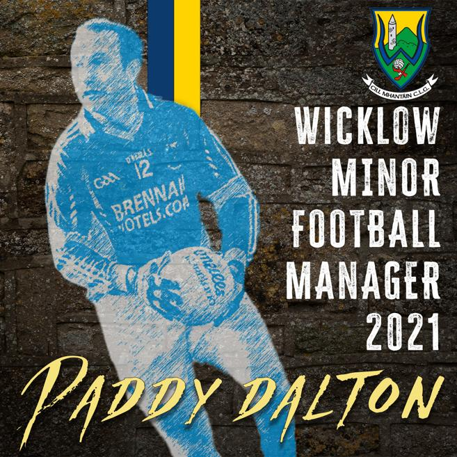 Paddy Dalton Minor Football Manager 2021