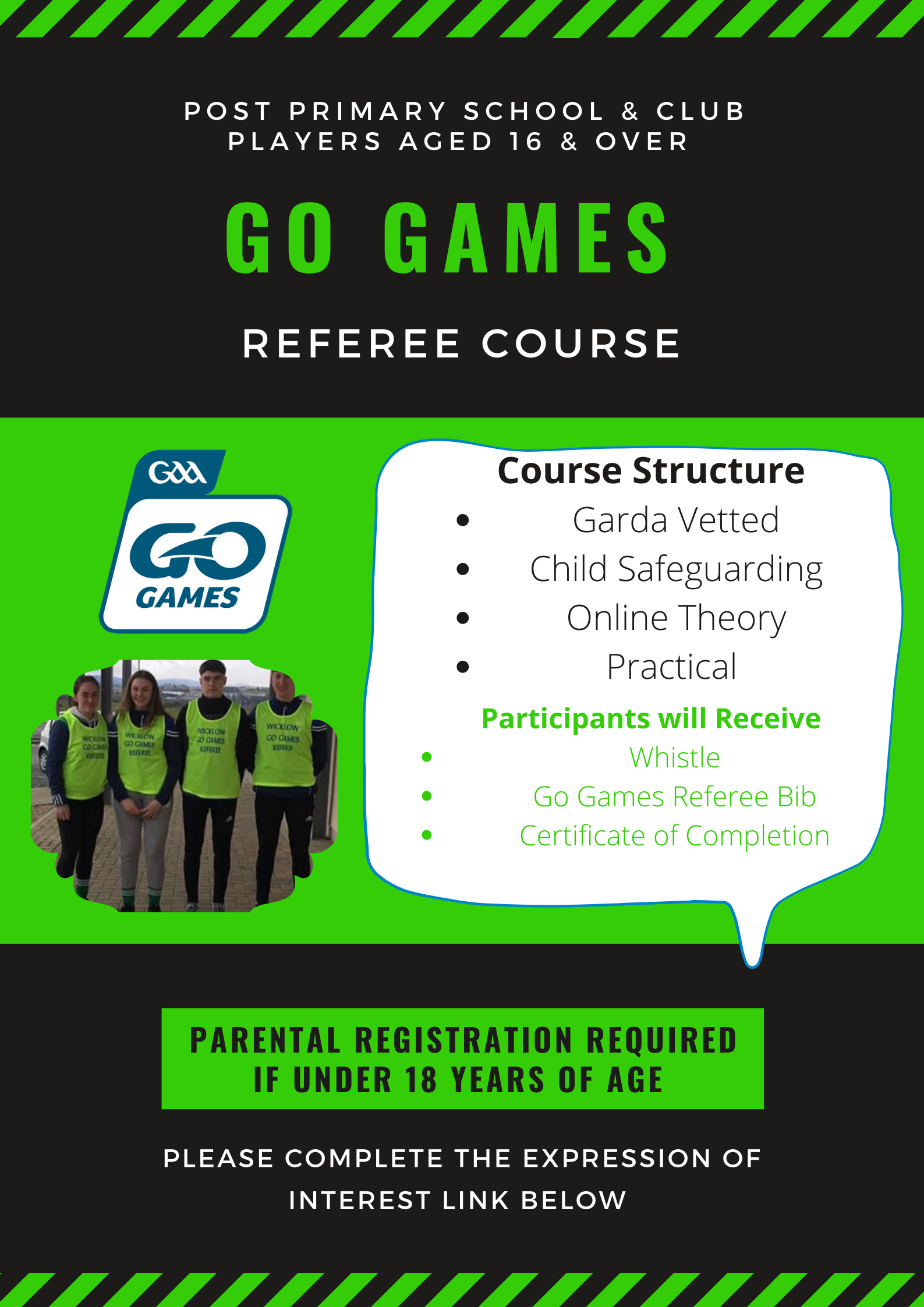 Go Games Referee Course 2021