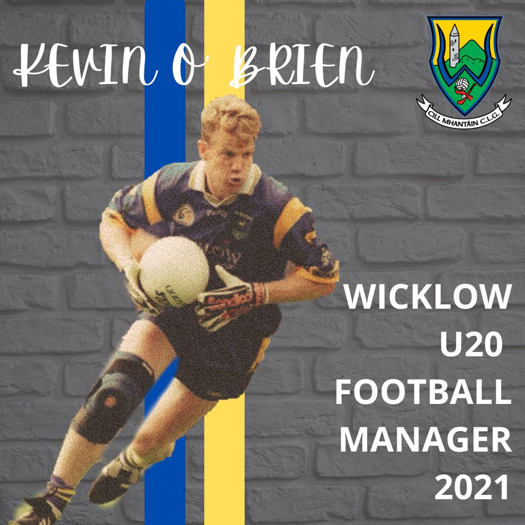 Kevin O' Brien U20 Football Manager 2021