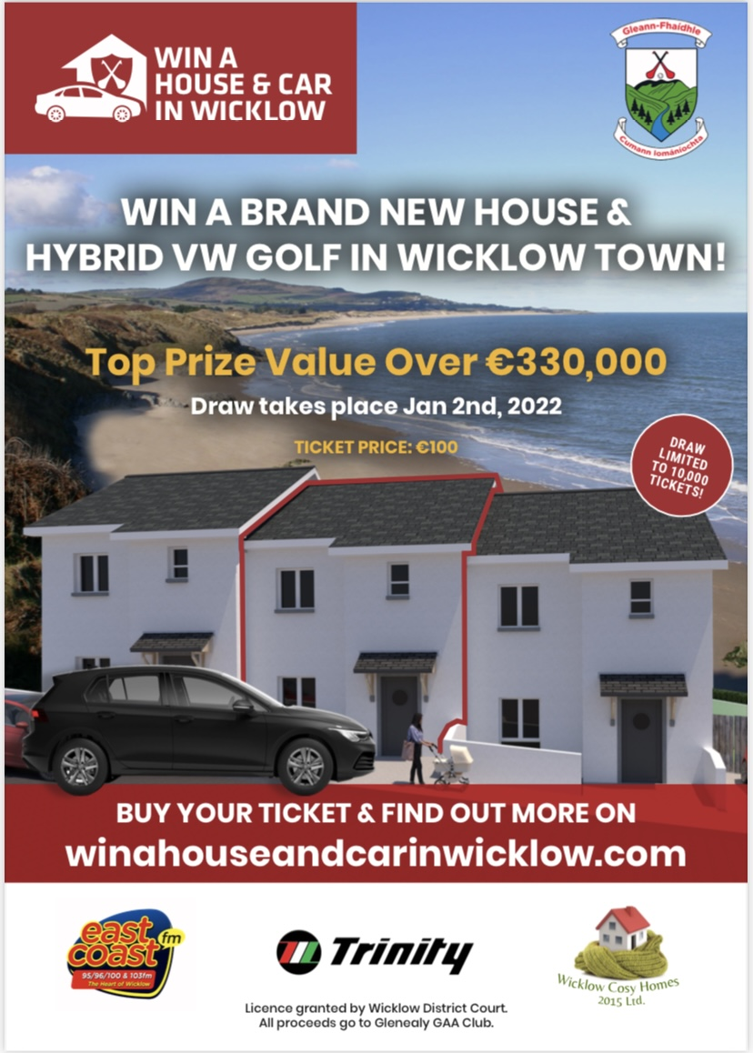 Win a House and Car in Wicklow