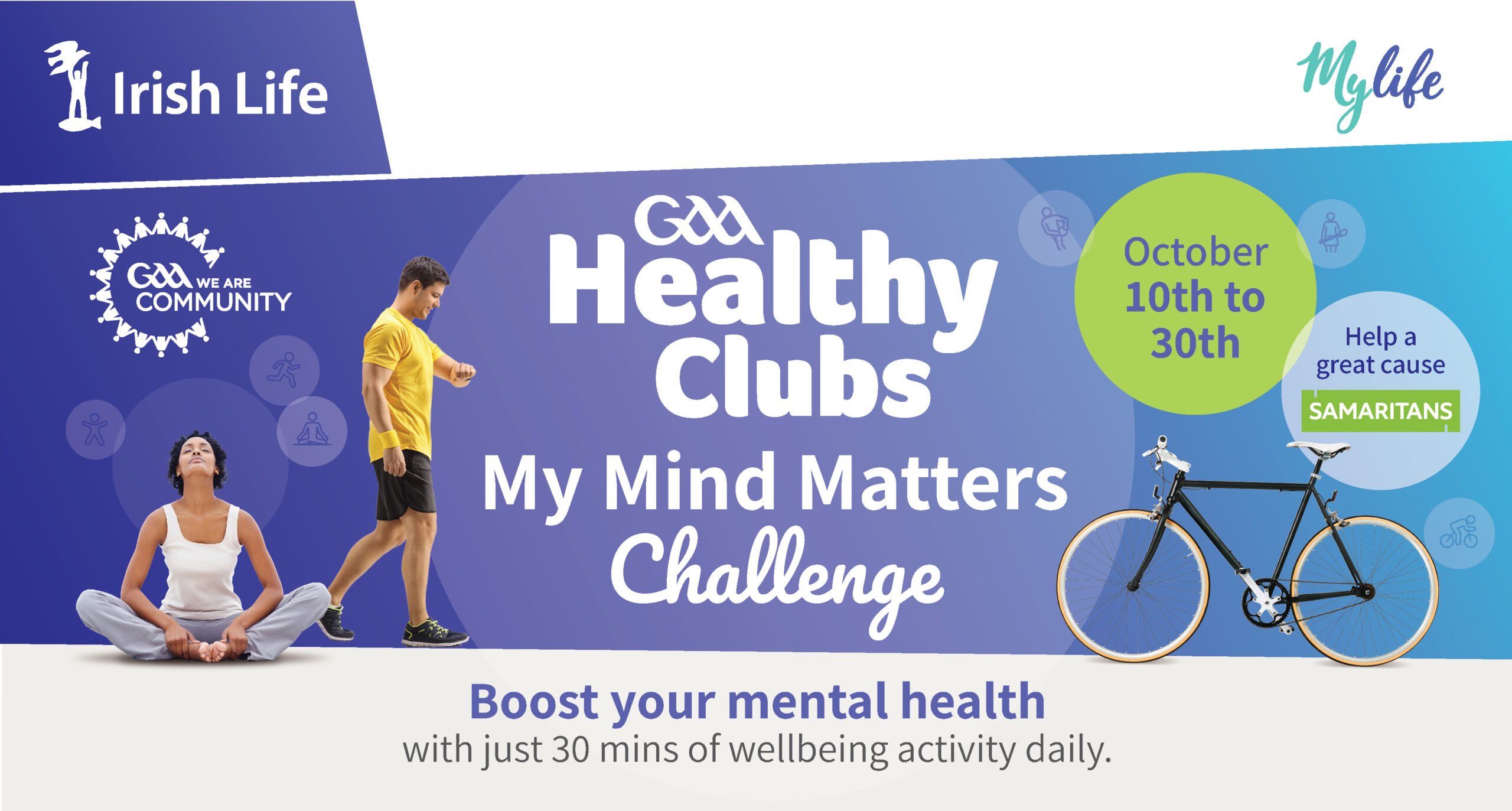 GAA Healthy Clubs My Mind Matters Challenge in partnership with Irish Life